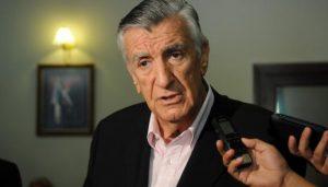 """""""Fue una burda operación política"""", dijo Gioja acerca de la intervención del PJ"""