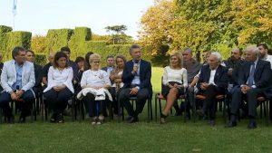 Macri le dijo a familiares que su Gobierno va a seguir luchando por la soberanía de las Islas Malvinas