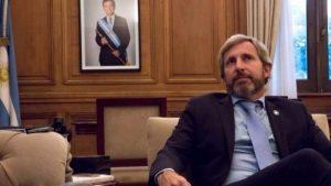 """Frigerio le apuntó a la oposición que """"quiere que a la Argentina le vaya mal"""""""