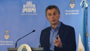 """Macri: """"Hubo miedo y angustia, pero la turbulencia está superada"""""""