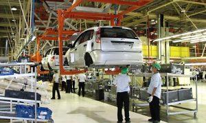 La producción automotriz cerró el primer cuatrimestre con un alza de 20,4%