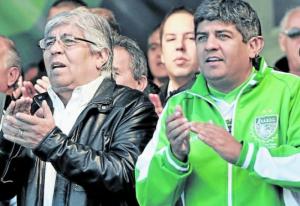 Moyano ratificó el pedido del 27% en paritarias de Camioneros
