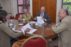 Salud Pública y la UNSa renovaron el convenio de colaboración por residencias de nutricionistas