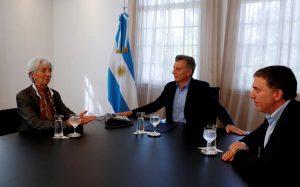 La vuelta al FMI: la Argentina pide un acuerdo financiero «stand by» de alto acceso