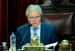 """""""La oposición está buscando más el veto que la baja de tarifas"""", chicaneó Pinedo"""