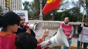 El Partido Obrero repudió el apoyo de Schiaretti y el PJ, al pacto con el FMI