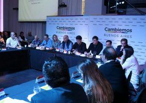 El PRO y sus aliados bonaerenses defendieron la gestión de Cambiemos