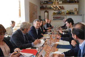 En Cachi, Macri y Urtubey encabezaron reunión de equipos ministeriales