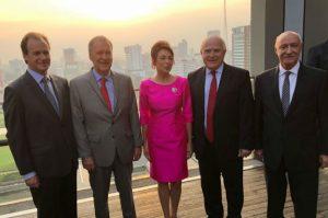 Schiaretti, Lifschitz y Bordet pusieron en marcha la misión comercial en el sudeste asiático
