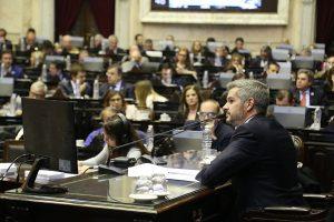 """En Diputados, Peña reafirmó que la política económica """"la define el Gobierno, no el FMI"""""""