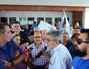 Novena jornada de protesta del SEP en reclamo a la situación de los hospitales