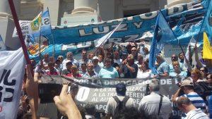 El movimiento obrero marcha por el Cordobazo y en contra del ajuste del Gobierno de Macri