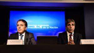 """Gobierno celebró el """"voto de confianza"""" tras la licitación de las Lebacs y la colocación de bonos"""