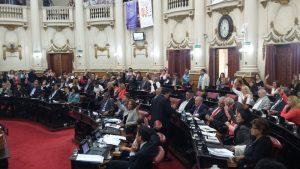 Opositores insisten con su demanda de eliminar el Fuero Anticorrupción