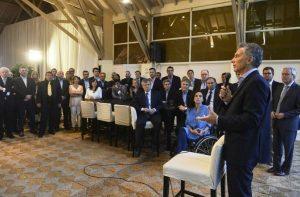Macri encabezará dos encuentros con referentes de Cambiemos en Casa Rosada
