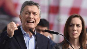 "Junto a Vidal, Macri afirmó que ""los paros no contribuyen a nada"""