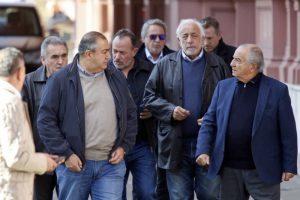 La cumbre entre el Gobierno y la CGT fue suspendida