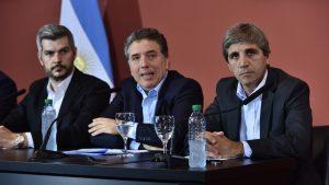 En busca de inversiones, Peña y Caputo con agenda en Londres y Nueva York