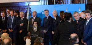 """Macri: """"no queremos un Estado socio del narcotráfico"""""""
