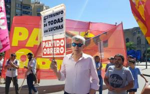 Para dirigente trokista, Macri quiere imponer «una política de recesión y confiscación de ingresos populares»