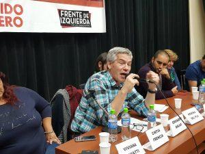 """Salas denunció que el acuerdo con el FMI es para """"blindar a los usureros acreedores de la Argentina"""""""