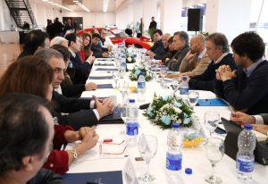 Macri se reunió con Zamora por obras de infraestructura en la provincia