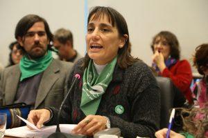 Del Plá acusó al peronismo federal y al massismo de ser cómplice de la política pro FMI