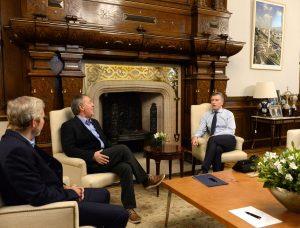 Schiaretti se reunió con Macri y, este martes, recibe a Rodríguez Saá