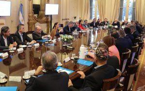 Aborto, FMI y CGT, claves de la reunión de coordinación del Gabinete encabezada por Macri