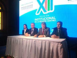 Región Centro: deliberan funcionarios de las tres provincias