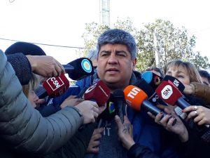 Pablo Moyano redobló la apuesta y afirmó que si no hay aumento del 27%, habrá más paros