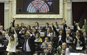 El final de la votación en Diputados crispó los ánimos en Cambiemos