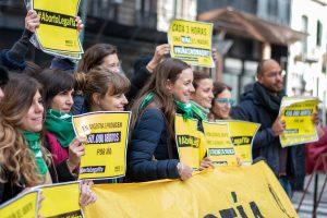 Aborto legal: Amnistía calificó como «un paso histórico para los DDHH»