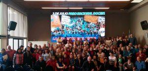 En repudio a la represión contra docentes, la UEPC se suma al paro nacional del 3 de julio