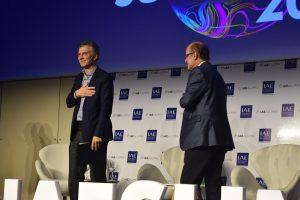 """Tenemos que sacarnos de encima esta enorme mochila"", dijo Macri acerca del déficit fiscal"