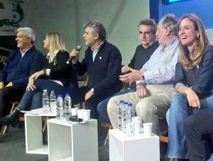 Rossi recibió apoyo K para competir por la Presidencia