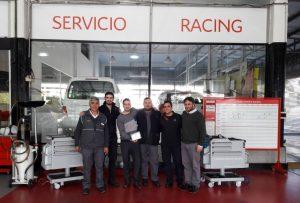 Parra obtuvo la certificación  del servicio de postventa Citroën Racing