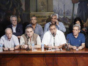 """La CGT demanda al Gobierno macrista a que ofrezca """"respuestas"""""""
