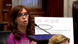 Pinedo justificó el tratamiento del desafuero de Cristina Kirchner