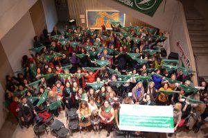 Mujeres de la cultura cordobesa presentaron una carta abierta a favor del aborto legal