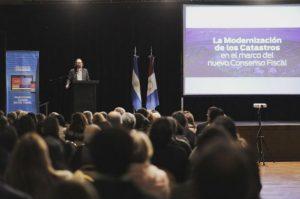 Córdoba fue sede de la jornada nacional sobre modernización de catastros