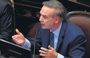 Al criticar el proyecto de extinción de dominio, Pichetto lo comparó con un organismo de la dictadura