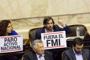 La Izquierda demanda que el acuerdo con el FMI se someta a consulta popular