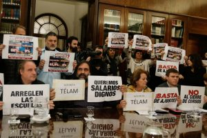"""Paritaria frustrada: rechazo """"categórico"""" del Frente docente a la nueva propuesta del Gobierno de Vidal"""