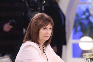 Bullrich insistió en sus críticas contra un sector desestabilizador del peronismo