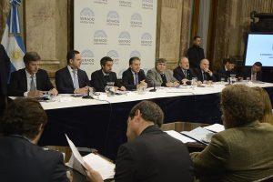 """Al calificar de """"inédito"""" el acuerdo con el FMI, Dujovne habló de un reconocimiento al """"esfuerzo de Argentina"""""""