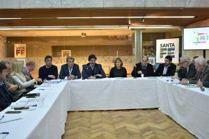 Productores lecheros se reunieron con funcionarios de Córdoba, Santa Fe y Buenos Aires