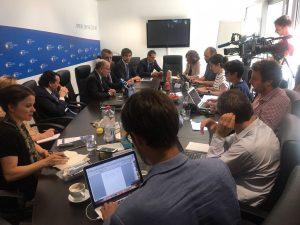 Desde Bruselas, Faurie ratificó los avances en las negociaciones por acuerdo MERCOSUR – UE