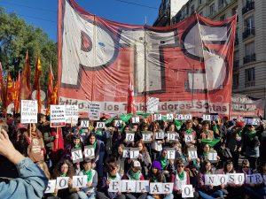La Izquierda repudió la presencia del FMI y el ajuste de Macri