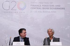 La titular del FMI respaldó al Gobierno macrista